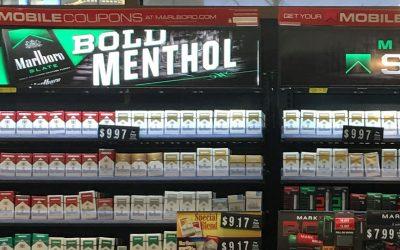 Wawa cigarette counter
