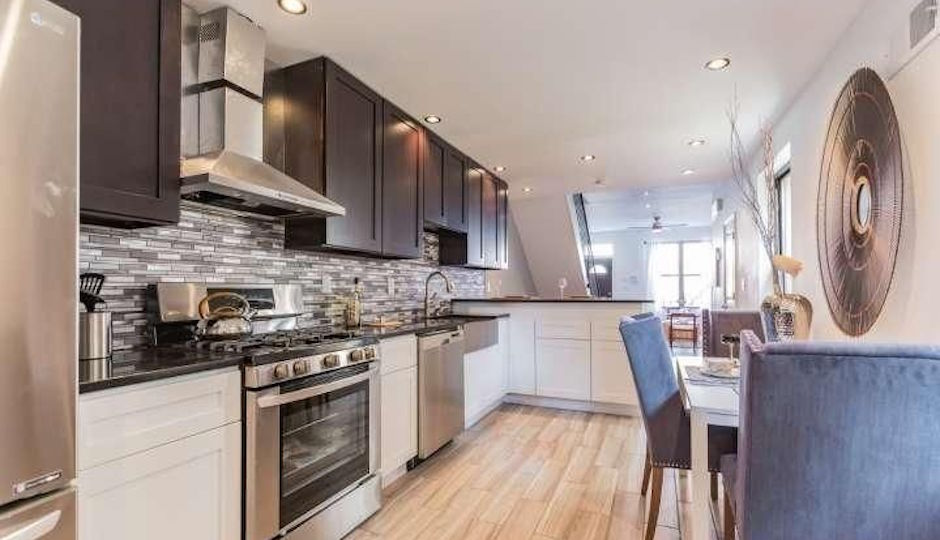 A completed Raza Properties home at 2824 W. Master St. in Brewerytown, currently on the market. | TREND image via Raza Properties