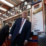 Donald Trump at Geno's
