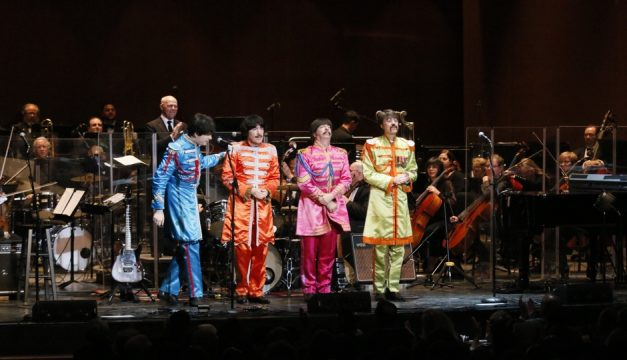 The Classical Mystery Tour will perform with the Philly Pops orchestra. Photo by Jaime Escarpeta
