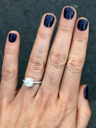 Allie's ring!
