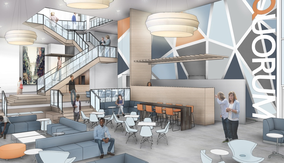 Rendering of expanded, new Quorum.