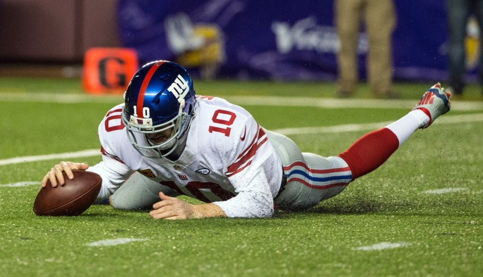 Eli Manning. (USA Today Sports)