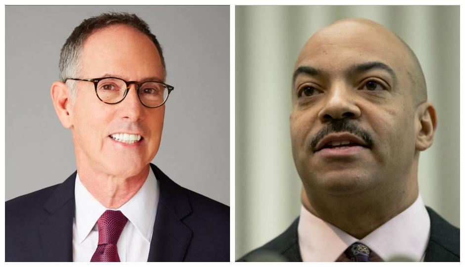 Left: Michael Untermeyer via Facebook, Right: Seth Williams, photo by Matt Rourke, Associated Press