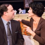 Fran Prisco and Karen Peakes in Last of the Red Hot Lovers at Walnut Street Theatre. (Photo by Mark Garvin)
