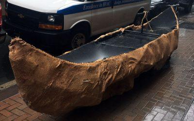 Canoe on Market Street