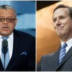 L: Charles Ramsey (AP Photo/J. Scott Applewhite) | R: Rick Santorum (Christopher Halloran / Shutterstock.com)