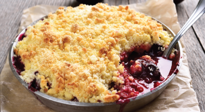 Apple and Cranberry Cobbler