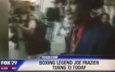 Fox 29 wishes Joe Frazier a happy birthday