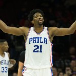 Joel Embiid led the Sixers with 25 points in their 93-91 victory over the Minnesota Timberwolves | Bill Streicher-USA TODAY Sports