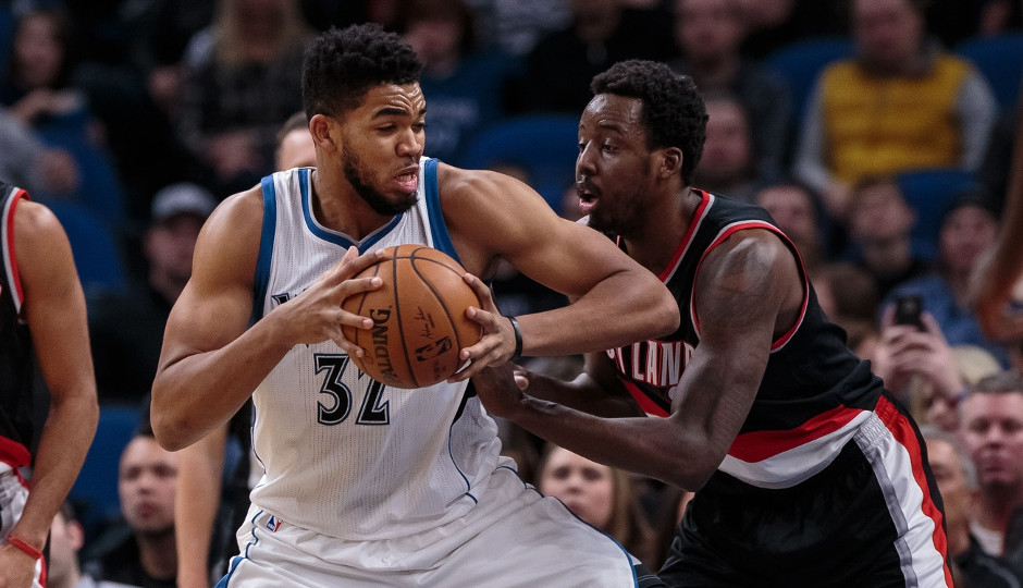 The Sixers will look to slow down Karl-Anthony Towns and the Minnesota Timberwolves tonight at the Wells Fargo Center | Brad Rempel-USA TODAY Sports