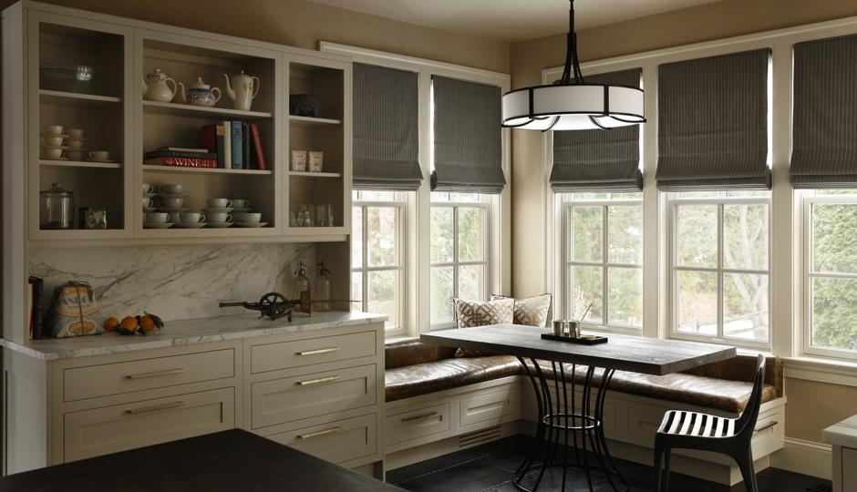 Open Cabinets In A Villanova Kitchen Designed By Ashli Mizell | Photograph  By Jason Varney