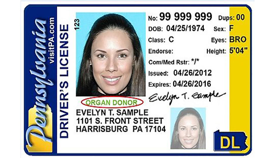 Real id pa license centers