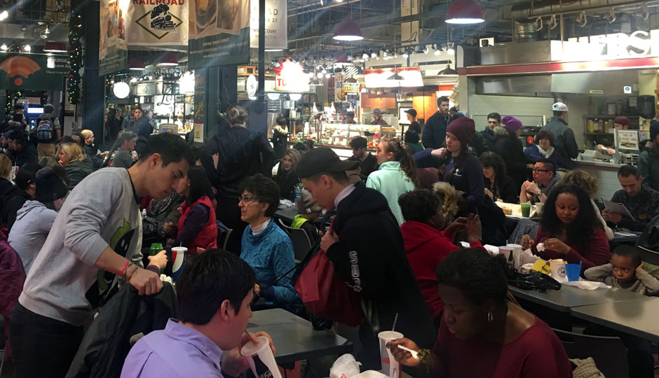 Reading Terminal Market January 2nd 2017