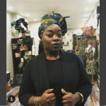 Syreeta Scott at her North Philly boutique The Sable Collective.