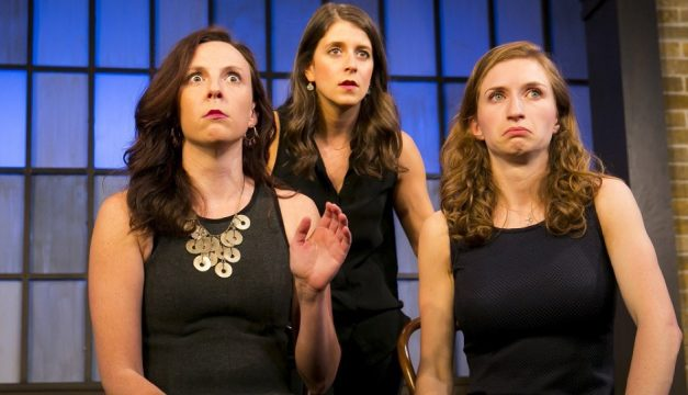 The Second City Live: We're All In This Room Together is at the Kimmel Center on Friday and Saturday. Photo by Todd Rosenberg