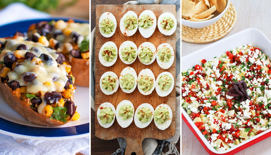 Healthier Vegan Super Bowl Snack Recipes