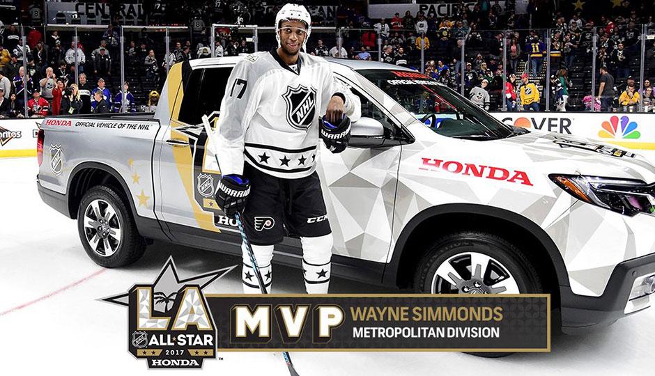 Wayne Simmonds, ASG MVP