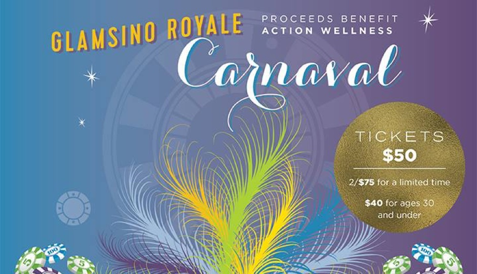 Glamsino Royale: Carnaval is this Thursday, February, 23rd.