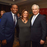 Ducis Rodgers, Action News Sports Director, Ellen and Michael Barkann