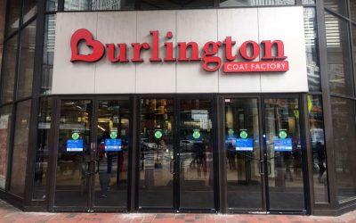 Burlington Coat Factory outside store