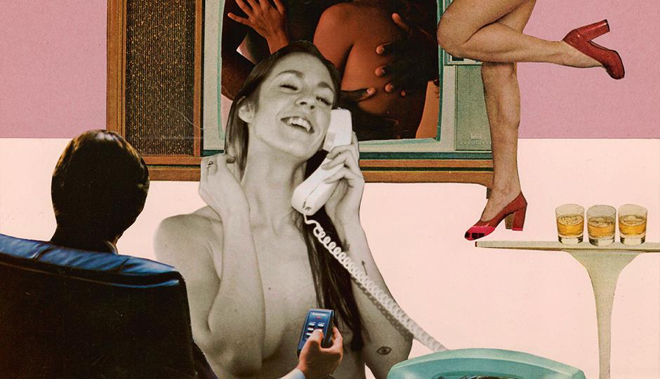Philadelphia Sex Diaries Collage By Kevin Burzynski