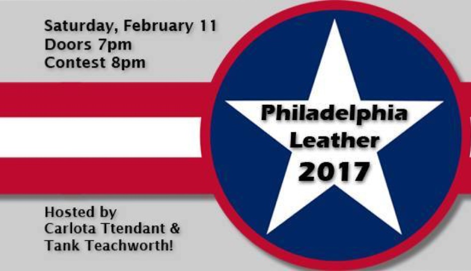 The Bike Stop and Philadelphians MC presents the Mr. & Ms. Philadelphia Leather Contest 2017 this Saturday.