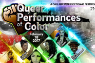 """Instrumentalists, vocalists, dancers, burlesque, drag, art -- Saturday night's """"Queer Performances of Color"""" at CiBo appears to have it all."""