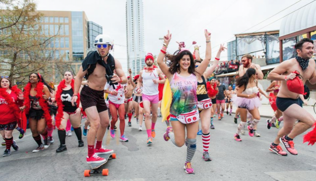 The Cupid's Undie Run is taking place in cities around the world this month. Philly's is on Saturday, February 18th. Photo provided