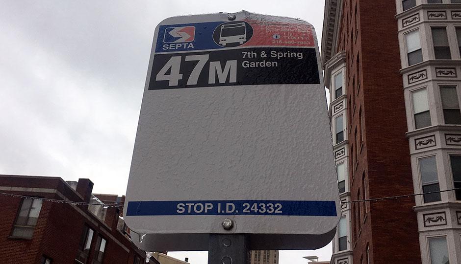 47M bus - snow
