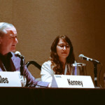 "Mayor Kenney sits on ""Building Bridges When Others Want to Build Walls"" panel at SXSW. Image via Twitter."