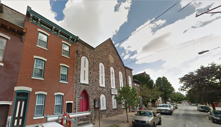 The Church of the Living Word on Susquehanna Avenue in Fishtown will be born again as a live/work space. | Google Street View image