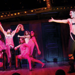 The touring cast of the Tony-Winning Broadway production of Cabaret. Photo via Dana SOHM/Lyric Opera Kansas City.