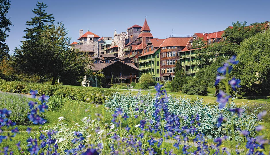 Mohonk Mountain House. Photograph by Jim Smith