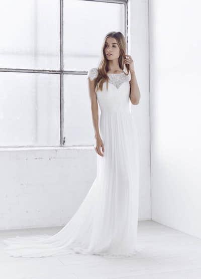 Silk Tulle Georgia gown from the Anna Campbell Ceremony Collection.