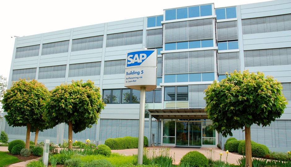 SAP building in Germany. Image via Flickr Vladislav Bezrukov.