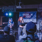 Good Girl on stage at Philly's SXSW 2017 music showcase.