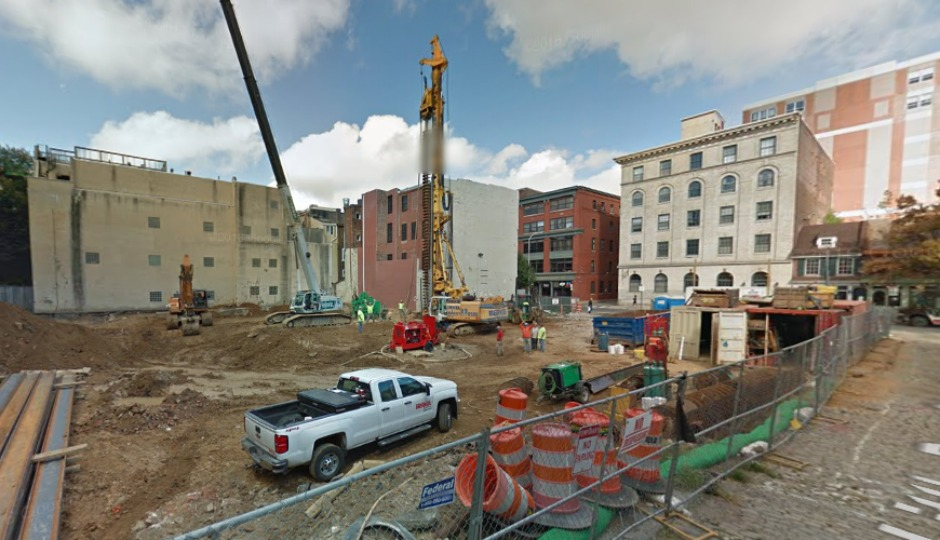 bodies found at old city construction site