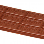 Hershey bar, unwrapped