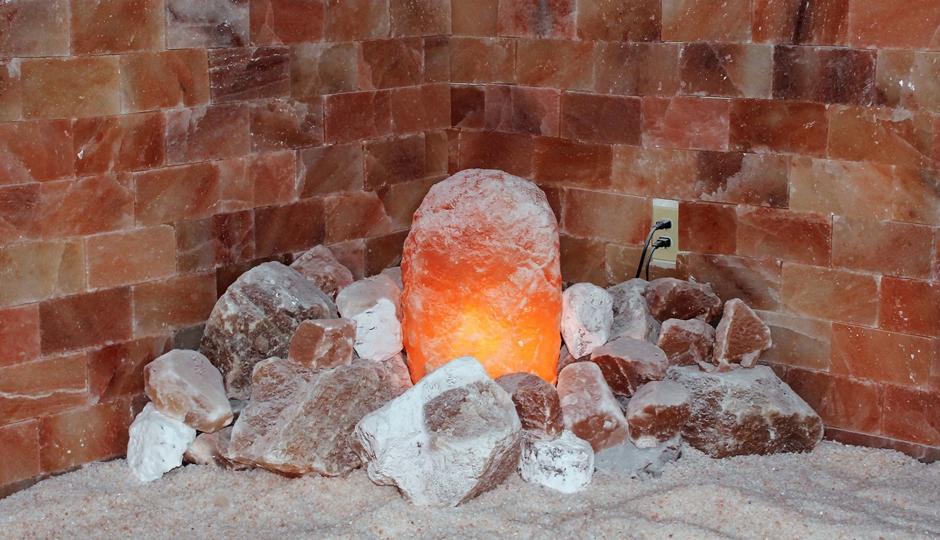 Himalayan Salt & Wellness Cave | Photo via Facebook
