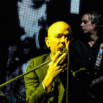 R.E.M. (Lakewood Amphitheatre, Atlanta, 2008)  I began shooting because of this band, my favorite band of all time. I had a point-and-shoot and was lucky enough to be in the front row. Little did anyone at the show know that this was their last show ever in their home state.