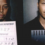 Terrence Howard in a 2001 Whitemarsh Police Department mugshot photo.