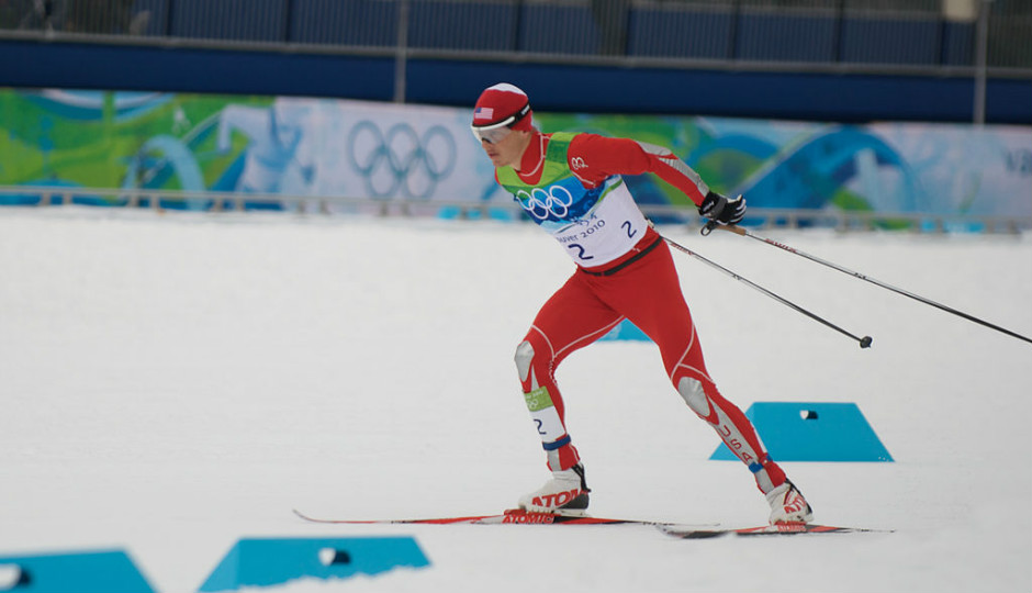 Todd Lodwick in Nordic combined. Image via Wikimedia Commons.