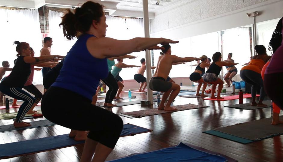 JTown Hot Yoga | Photo courtesy Stephanie Weinstein