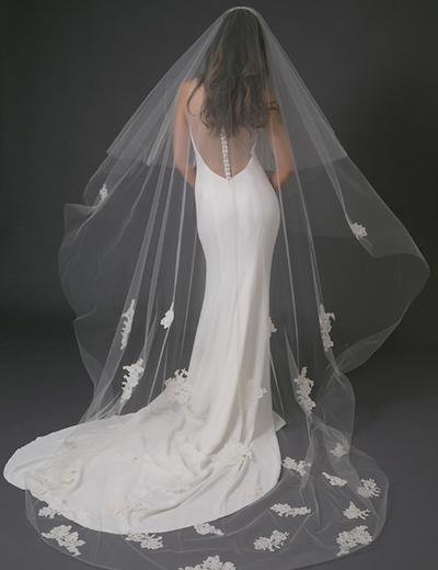 The Tulip veil by Toni Federici // Toni Federici