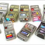 Toy Star Trek Tricorder prototypes. Image via Pinterest.