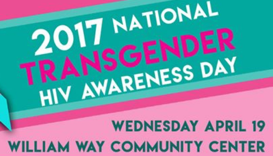 Wednesday is National Transgender HIV Awareness Day.
