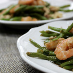 Citrus-chili shrimp and green beans | Photo by Becca Boyd