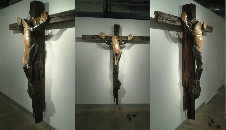 crucified-frog-penn-state-abington