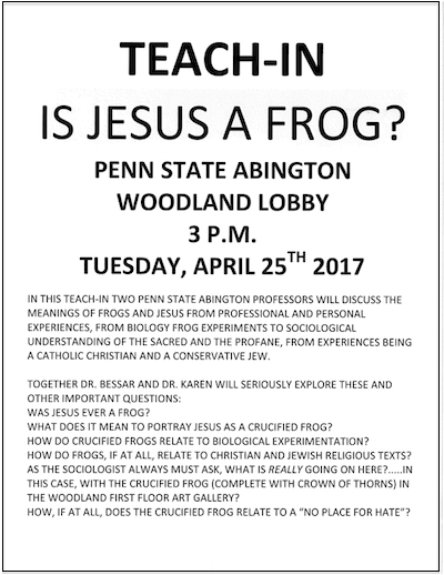 crucified-frog-sculpture-penn-state